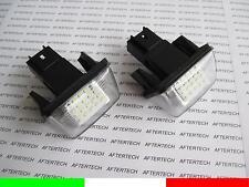 PEUGEOT 206 206+ 207 406 407 306 307 308 LAMPADE TARGA LED NO ERRORE CANBUS G1C6