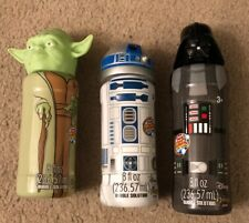 Yoda R2D2 & Vader Disney Star Wars Super Miracle Bubble Solution 3 -8 FL OZ