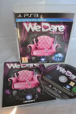 Sony Playstation 3 ps3 Konsole Spiel-We Dare-Flirty Spaß für alle