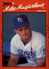A6931- 1990 Donruss Baseball Cards 498-716 +Rookies -You Pick- 10+ FREE US SHIP