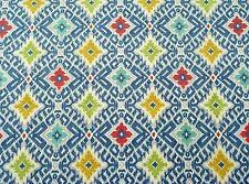 Richloom Solarium Fanswa Denim Diamond Upholstery Fabric $9.99/Yd Bty 5139Fs
