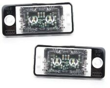 New Genuine AUDI A8 10-16 Q7 10-16 LED License Plate Light Assembly Set Pair L+R
