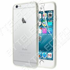"Funda BUMPER Blanco Hibrido Gel TPU POLICARBONATO APPLE iPhone 6 4.7""+Protector"
