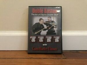 DOBLE BASTON DVD filipino double stick lacoste kali abecedario sumbrada mohara