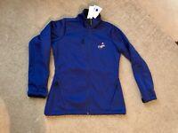 NWT Womens Los Angeles DODGERS Blue Soft Shell Baseball Jacket Size Small