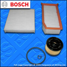 SERVICE KIT RENAULT CLIO MK4 0.9 1.2 TCE BOSCH OIL AIR CABIN FILTERS (2012-2018)