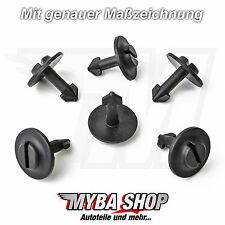 10 x motor-unterfahrschutz Clips Para Audi A4 A6, VW PASSAT,SKODA 4a0805121a