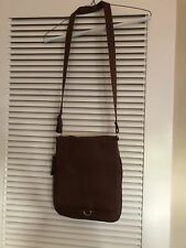 New Brown Leather Purse Purchased In Rome, Italy