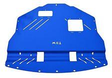 BLUE Aluminum Engine  Under Tray Skid Plate for Subaru WRX STI 2011-2014