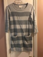 Rag & Bone Knit Sweater Dress Striped Long Sleeve Sweater Dress Women's Size S
