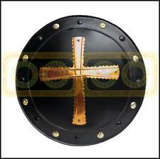 "18"" Medieval Barbarian Viking Iron Shield Spartan 300 Knight Shield Theatre Prop"