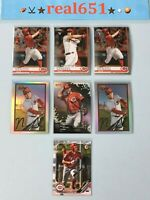 2019 NICK SENZEL Rookie-Prospect Lot x 7 RC | Topps Bowman Chrome Reds