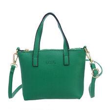 Women Ladies Handbag Faux Leather Shoulder Bag Satchel Messenger Purse Tote Bags