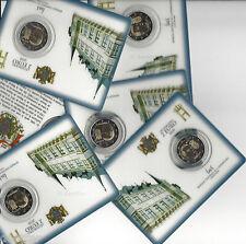LUXEMBURG 2010  - 2 €uro -  commemoratief  WAPPEN , in coincard...ORIGINAL