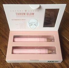 Cherry Chree Throw Glow Shimmer Highlighter & Mat Concealer 2 Cream Sticks Light