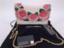 Neu Luxury Original DOLCE& GABBANA Damen Women's Tasche Bag Clutch Leder