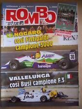 ROMBO n°41 1991 Inserto Speciale Rally di Sanremo - Bugatti EB 110   [P67]