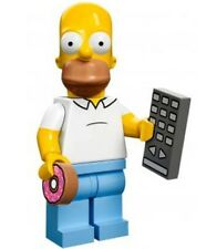 The Simpsons Lego collectible minifig Homer Simpson donut suit city / house set