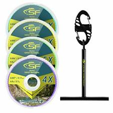 Sf Clear Monofilament Tippet Line with Holder Fly Fishing Tippets Leaders Trout