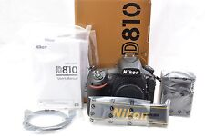 *Mint* Nikon D810 Body Only - 30 Actuations  - 3 Year Warranty