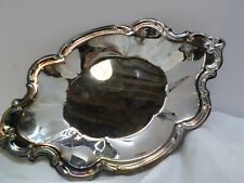 Vintage International Silver Company Silver Plated Oval Nut Tray Dish 9.25 inche