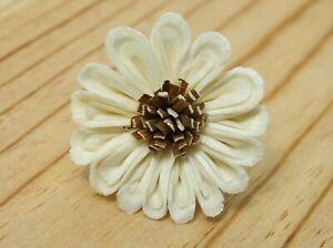 50 Sun flower 2 inch. Dia. Diffuser Flowers Sola Balsa Wood Wholesale Bouquet