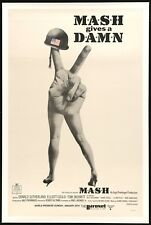 MASH ✯ CineMasterpieces M✯A✯S✯H RARE WORLD PREMIERE ORIGINAL MOVIE POSTER 1970