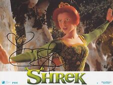 Cameron Diaz HAND SIGNED Photo, Autograph Theres Something About Mary Mask Shrek