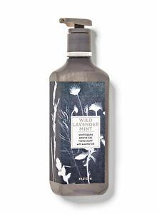 White Barn Bath & Body Works  WILD LAVENDER MINT Gentle Gel Hand Soap