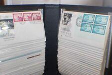 1951-1961 full set 100 FDI Rare set of  United Nations Stamp Album White Ace