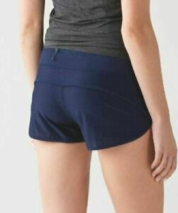 LULULEMON NEW with TAG Most Popular HARD-TO-FIND SPEED SHORTS* MESH Size 8 DNVY