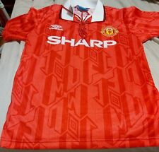 Eric Cantona Signed Manchester United Jersey + Proof+Coa