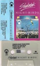 SHAKATAK  Night birds  UNIQUE RARE VERY DIFFICULT CASSETTE