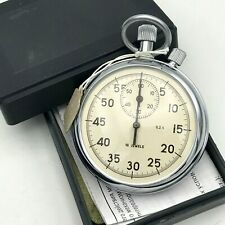 AGAT Stopwatch Vintage Single Hand Chronograph NOS Mechanical Russian Sport 02 s
