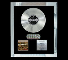SYSTEM OF A DOWN TOXICITY  MULTI (GOLD) CD PLATINUM DISC FREE SHIPPING TO U.K.