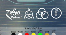 LED ZEPPELIN VINYL DECAL STICKER CUSTOM SIZE/COLOR