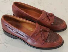 Allen Edmonds Cody Size 11 C Brown Mens Oxfords Tassel