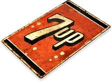 TIN SIGN 7-up Soda Logo Metal Décor Wall Art Store Cola Cave A200