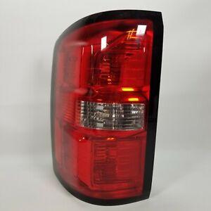 2014-2018 GMC Sierra 1500 OEM GM Left LH Tail Light Lamp Lens Assembly 20933728