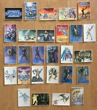VINTAGE CAPTAIN POWER AND THE SOLDIERS OF FUTURE, 27 CALENDAR CARDS,1988, IMPALA