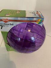 Kaytee/super Pet Run About Ball 7 Inch Purple