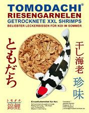Sommerfutter Koi, Riesengarnelen, beliebter Koisnack, getrocknete Koi-Gambas 1kg