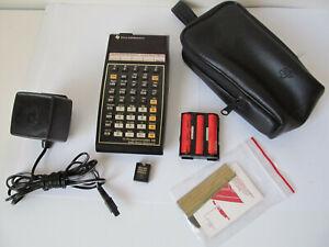 Vintage TI-59 Programmable Calculator ****
