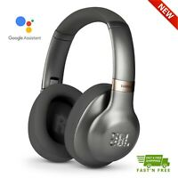 JBL EVEREST 710GA Over-Ear Bluetooth Headphones with Google Assistant, Gun Metal