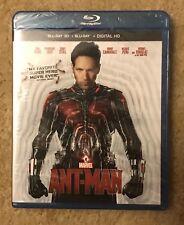 Ant-Man 3D (Blu-ray Disc/3D, 2015, 2-Disc, Digital Copy) Marvel 3D NEW! OOP