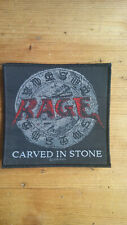 Rage Carved in Stone 2008 sew on patch music metal