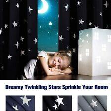 Cortinas De Apagón para niños Lámina Impresa Star Super Suave Térmico De 46 X 84 pulgadas