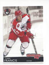 2012-13 Las Vegas Wranglers (ECHL) Chris Francis (Tulsa Oilers)