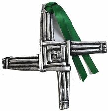Silver Claddagh St. Brigids Cross Decoration 3'' (CC03-S) (Pack Of 50)