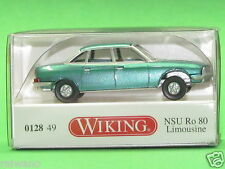 1:87 Wiking 012849 NSU Ro 80 Limousine - türkisgrün metallic Blitzversand DHL